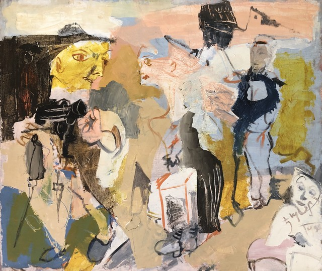 Jemal Kukhalashvili, 'Subject's Lover ', 1990, Chardin Art Gallery