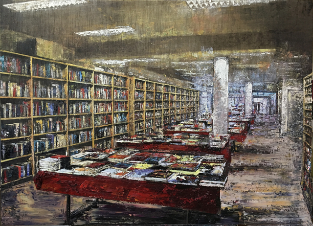 , '(LMS) Libreria Amsterdam,' 2017, ARTION GALLERIES