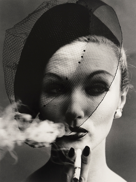 William Klein   Smoke and Veil, Paris (Vogue) (1956)   Available for Sale    Artsy