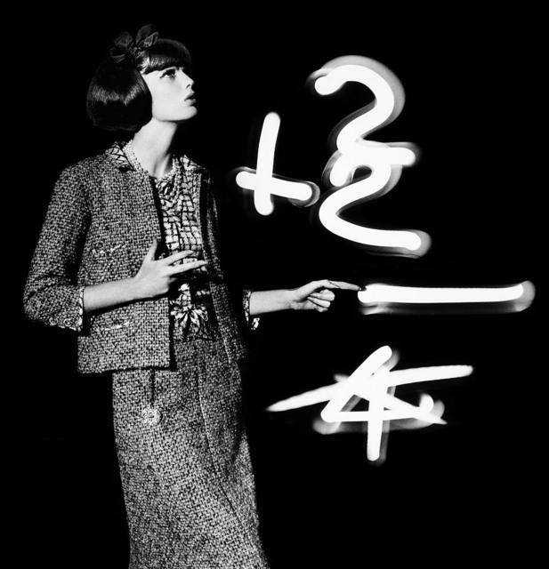 , 'Dorothy + light numbers,' 1962, HackelBury Fine Art