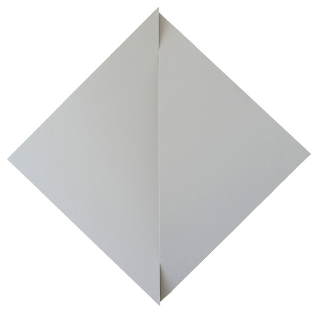 , 'Non-Fit Triangles (Gray),' 2017, Peter Blake Gallery