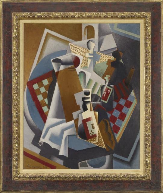 Jean Metzinger, 'Nature Morte (Still Life)', 1918, Yale University Art Gallery
