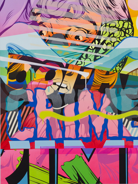 , 'Racket,' 2013, Jonathan LeVine Projects