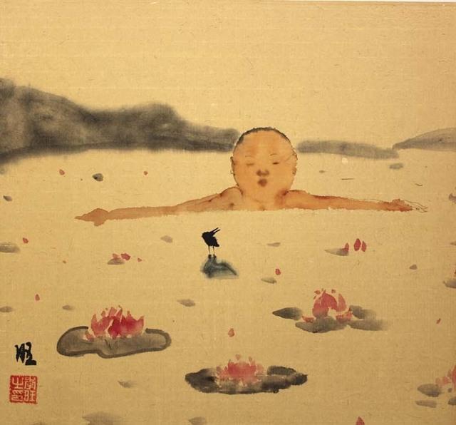 , 'Happy Man 18-6,' 2018, Tao Water Art Gallery
