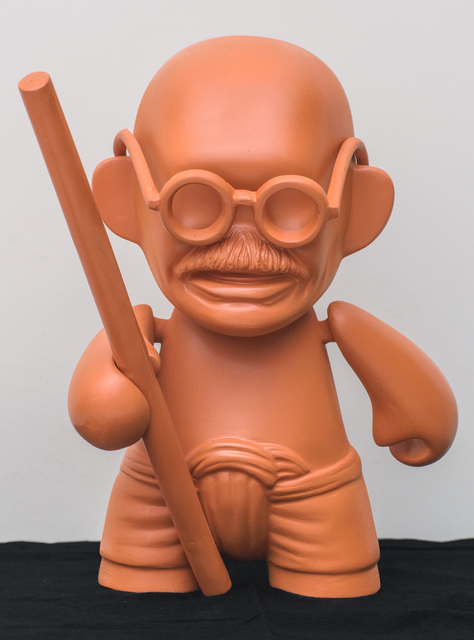 , 'Toy Gandhi 1 (Small Munny Doll),' 2019, Aicon Gallery