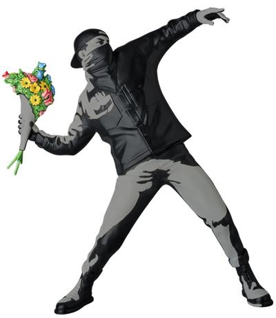Banksy, 'FLOWER BOMBER BLACK - BANKSY', 2019, Dope! Gallery