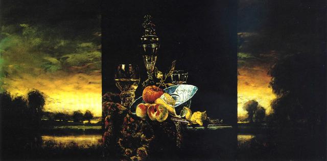 , 'Eulogy for a Planet, To Kalf,' 1999, Galerie de Bellefeuille
