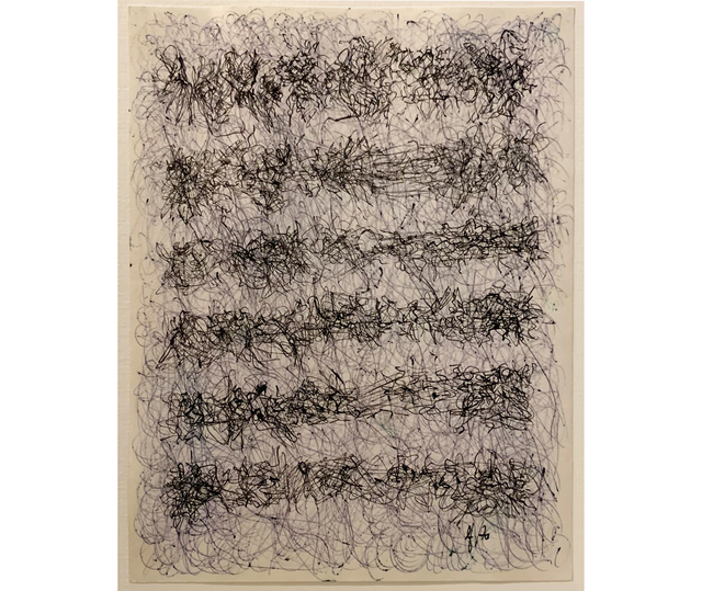 León Ferrari, 'Sin título', 1976, Drawing, Collage or other Work on Paper, Ink on paper, Herlitzka + Faria