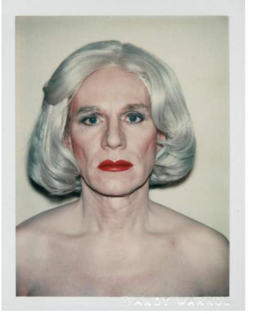 Andy Warhol, 'Andy Warhol, Polaroid Photograph, Self-Portrait in Drag (Andy Warhol in Drag), 1981', 1981, Photography, Polaroid, Hedges Projects