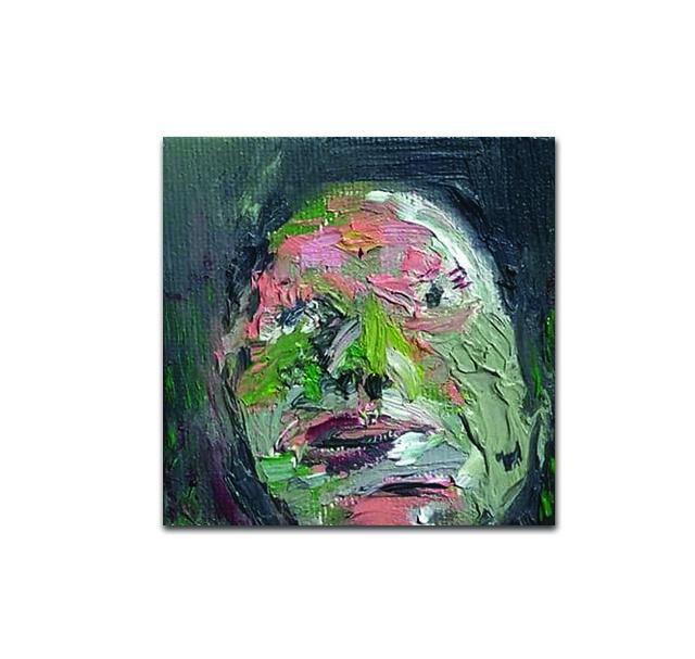 , 'Grün vor Neid,' 2018, Galerie Bart