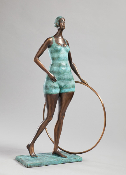 , 'Girl with hoop,' 2014, VS Unio