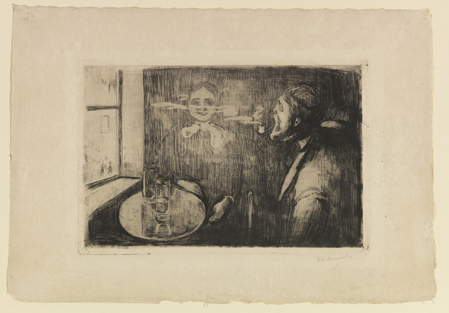Edvard Munch, 'Tête-à-Tête (In the Digs)', 1894, John Szoke