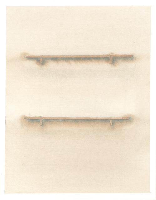 , 'Two Lines,' 2017, Galerie Antoine Ertaskiran