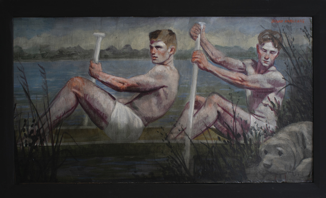 , 'Two Rowers ,' date unknown , Carrie Haddad Gallery