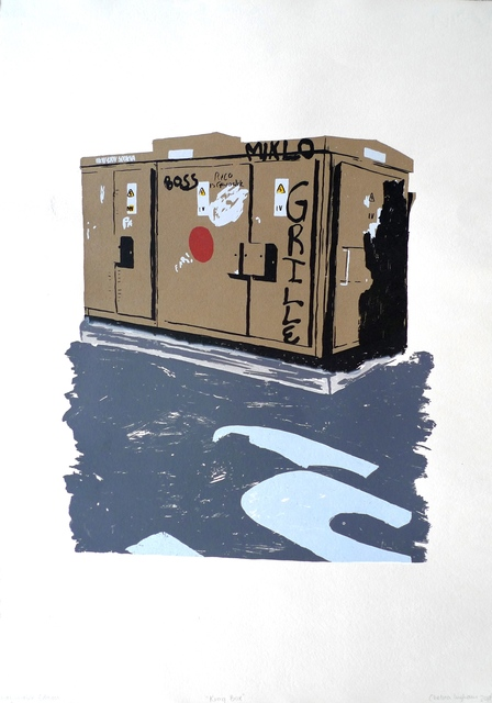 , 'Kragbox,' 2017, EBONY/CURATED