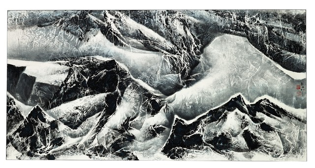 , 'Snow Mountain Series A,' 2012, Christie's South Asian + Chinese