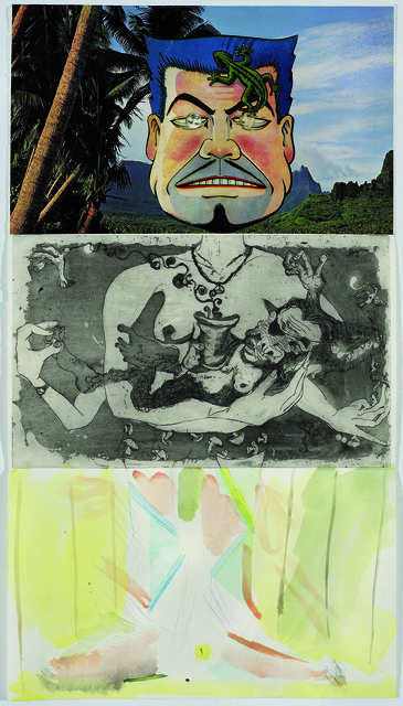 Allen Ruppersberg, Sam Messer, and Alison Fox, 'Exquisite Corpse 88,' ca. 2011, Mana Contemporary