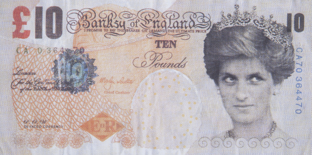 Banksy, 'Di-Faced Tenner', Julien's Auctions