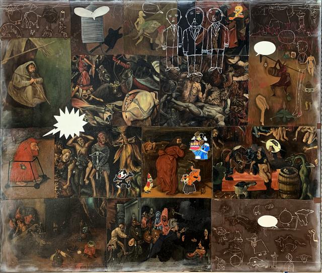, 'Las Tentaciones de San Antonio XVI,' 2018, MAIA Contemporary