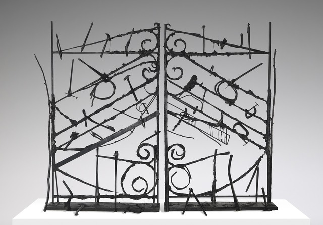 Jim Dine, 'Crommelynck Gate With Tools', 1983, Yale University Art Gallery