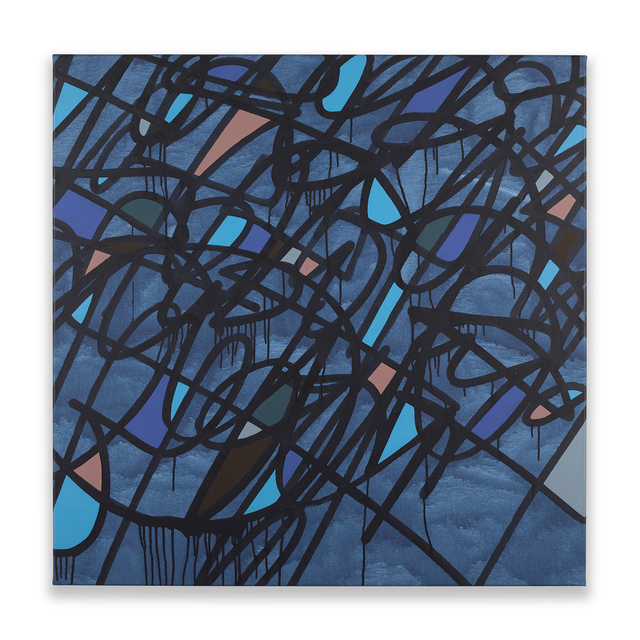 , 'Blue on Blue,' 2017, Chesterfield Gallery
