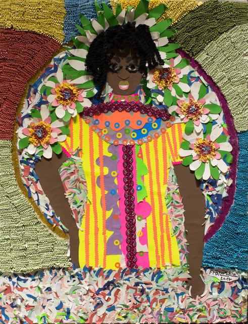 , 'Fleur de l'homme [Flower Man],' 2017, AfricArt Gallery Hong Kong