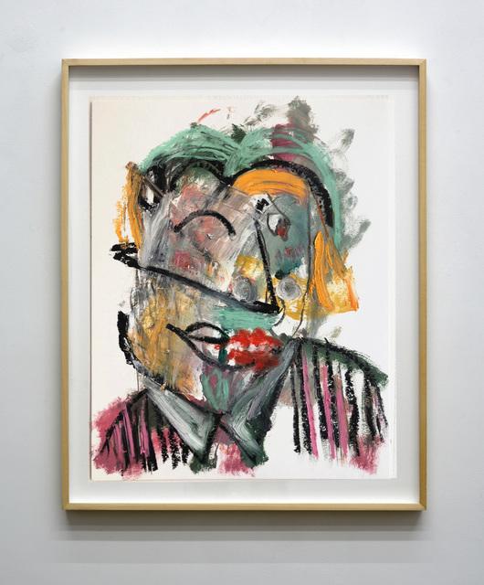 , 'Untitled (Portrait Studies on Paper),' 2018, Mugello Gallery