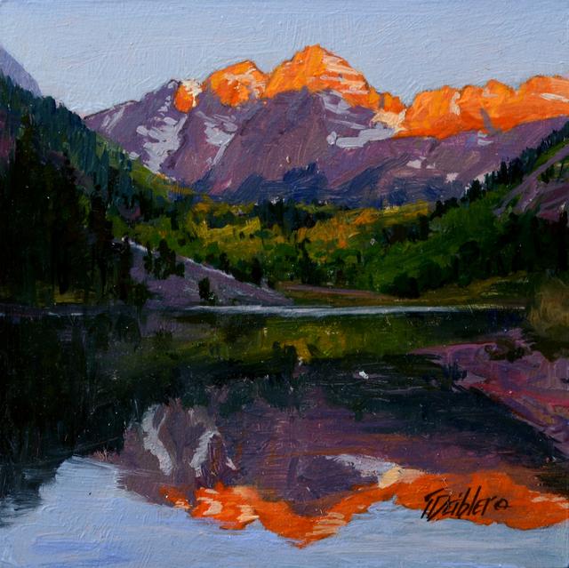 Tim Deibler, 'Sunrise on the Bells', 2018, Abend Gallery