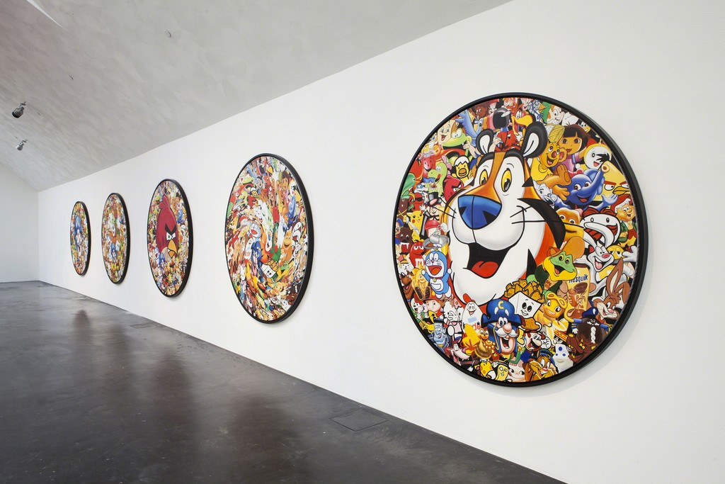 "Installation view of Jani Leinonen ""Made in China"" (2013) Series. Kiasma Museum of Contemporary Art, Helsinki. Courtesy of Finnish National Gallery / Pirje Mykkänen."