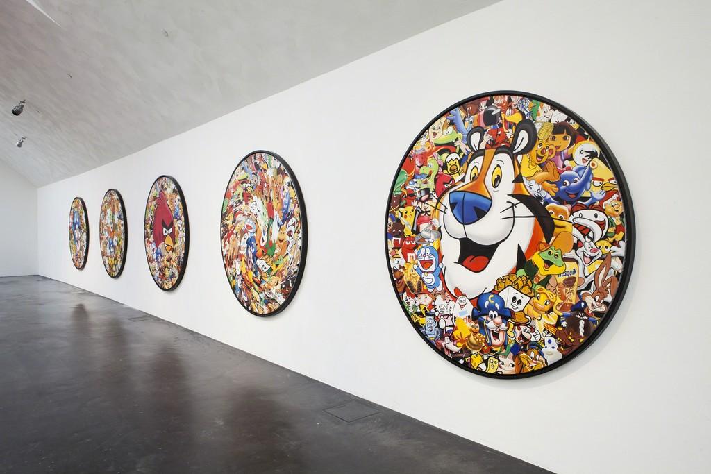 "Installation view of Jani Leinonen ""Made in China"" (2013) Series. Kiasma Museum of Contemporary Art, Helsinki. Courtesy of Finnish National Gallery / Pirje Mykkänen."