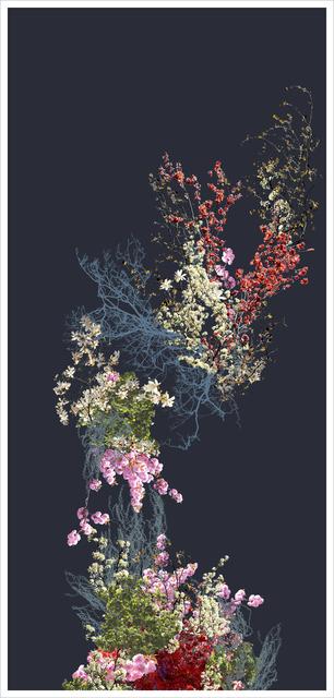 , 'falling,' 2016, InLiquid