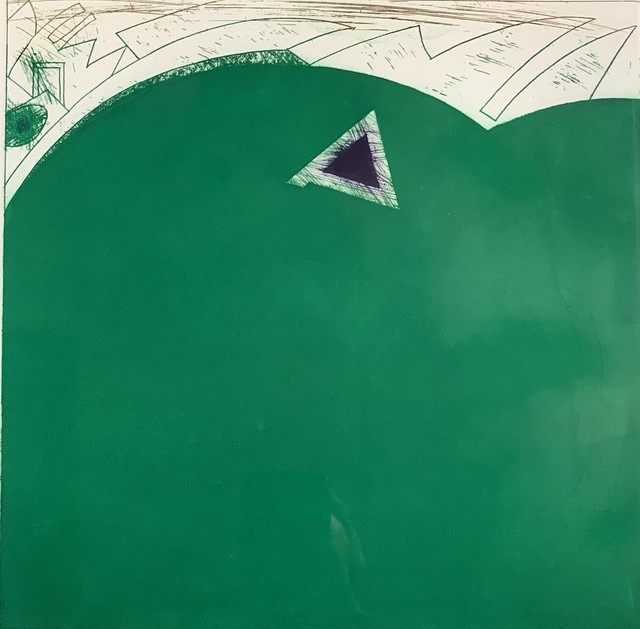 Gordon House, 'Penrhos from the Welsh Portfolio', 1984, Washington Color