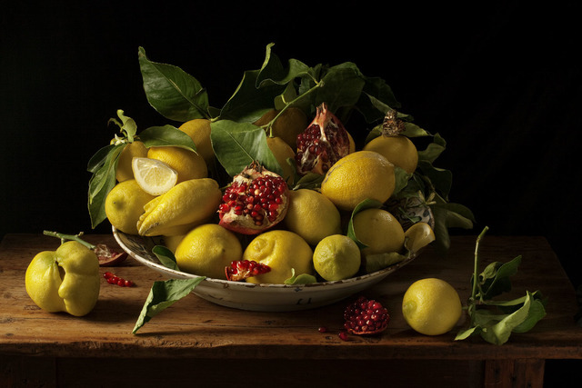 , 'Lemons and Pomegranates, After J.V.H.,' 2010, Snite Museum of Art