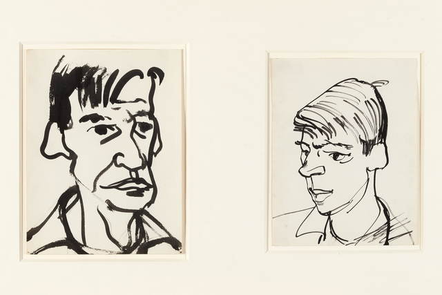 , 'David Park and Richard Diebenkorn (2),' , Brian Gross Fine Art