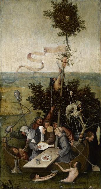 , 'The Ship of Fools,' 1490-1500, Museo Nacional del Prado