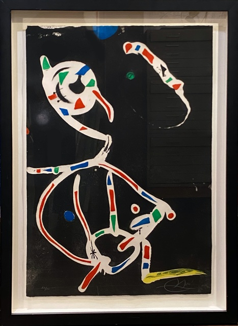 Joan Miró, 'La Traca III', 1979, Print, Original etching with aquatint on Arches paper, Off The Wall Gallery