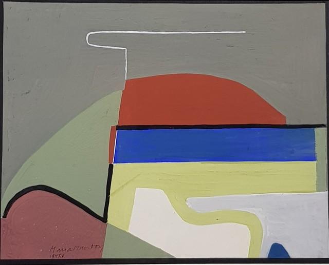 """, '""""Le ciel GRIS """",' 1947, Galerie Marie-Robin"""