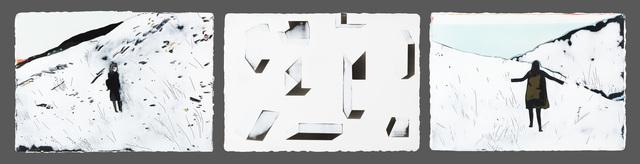 , 'Exploring the snow in flipping geometry,' 2015-2016, Yiri Arts