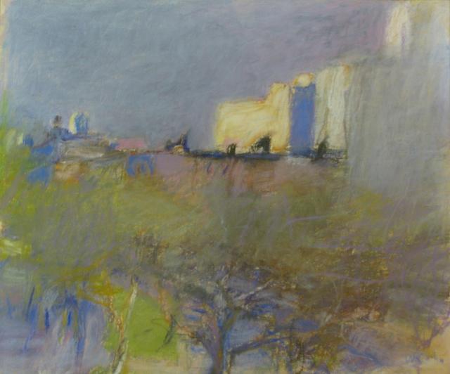 Wolf Kahn, 'Stuyvesant Square', 1968-69, Cavalier Ebanks Galleries