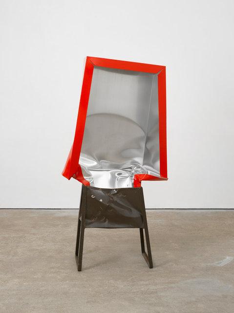 Angela de la Cruz, 'Crate (Red with Brown Box)', 2017, Galerie Thomas Schulte
