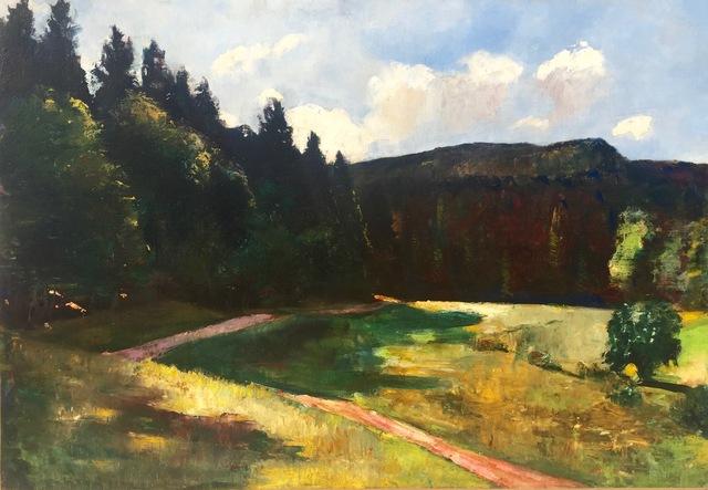 , 'Landscape,' ca. 1900, Anderson Galleries