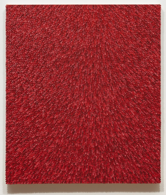 Omar Chacon, 'Mesalina Roja 2', 2018, Painting, Acrylic on canvas, Fouladi Projects
