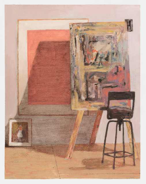 , 'Studio with Portrait of Miles,' 2017, Stevenson
