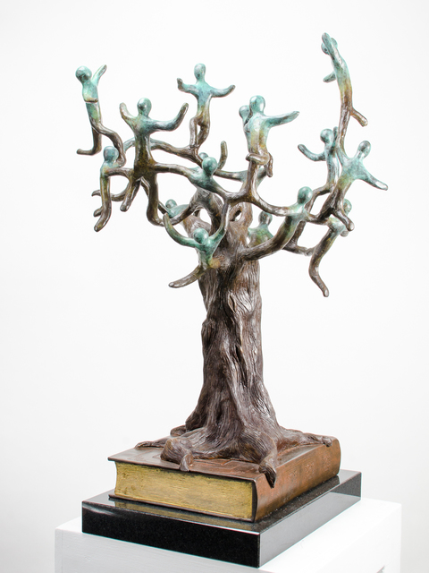 , 'The Book and The Tree,' 2010, Rimonim Art Gallery