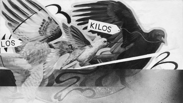 , 'Los Kilos,' 2016, Coagula Curatorial