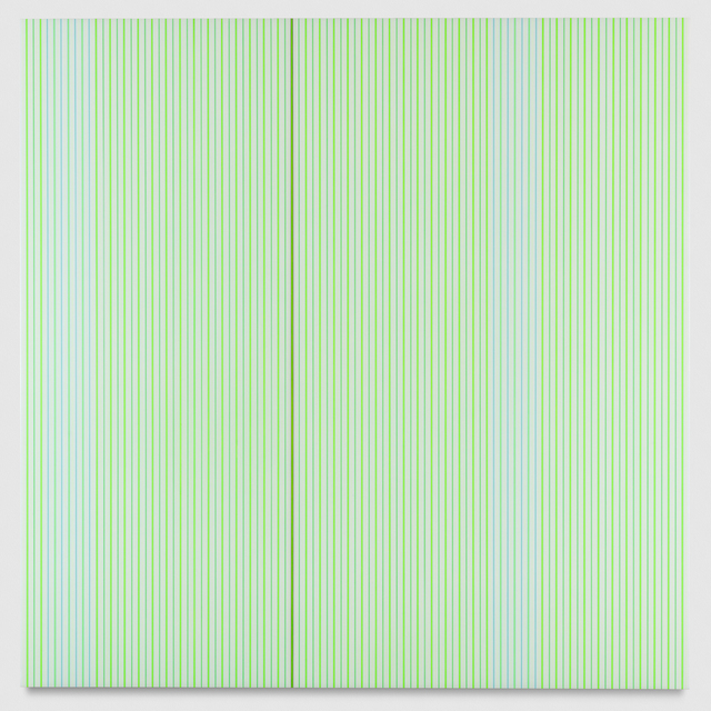 , 'Untitled (White and Neon Green Polyurethane),' 2017, PRAZ-DELAVALLADE