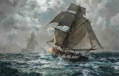 Night Suspect (A British Coast Guard Cutter in Pursuit)