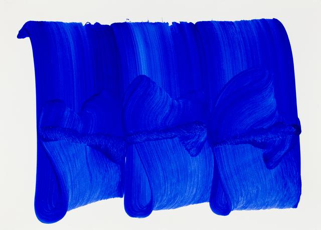 , 'Blue wave 1,' 2018, L'Atelier 21