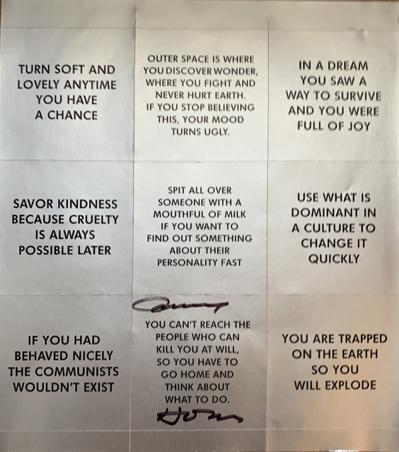 Jenny Holzer, 'Survival Series stickers sheet, SIGNED', 2018, Alternate Projects