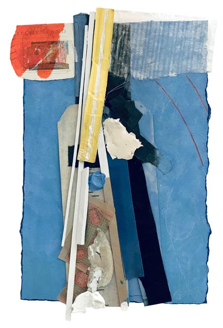 Bruce Dorfman, 'Dedalus', 2019, Painting, Paper, metal, wood, gouache, and acrylic, Elizabeth Clement Fine Art